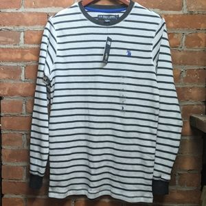 -US Polo Assn- Men's Thermal Henley - size small